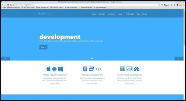Eastpoint Web, Mobile Application and eCommerce Development Outsourcing Services Company London, Cambridge and UK