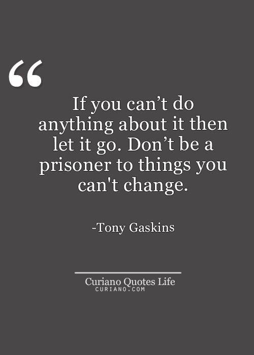 Let it go..
