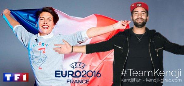 Kendji a l'euro 2016
