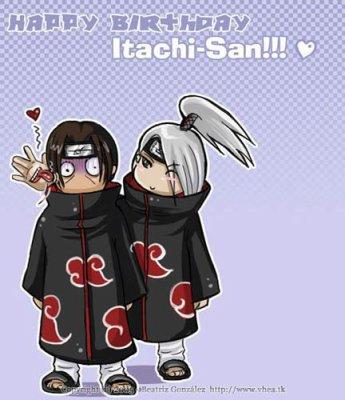 Anniversaire d'Itachi Uchuwa!!! 22 ans et toujours aussi beau ù.u
