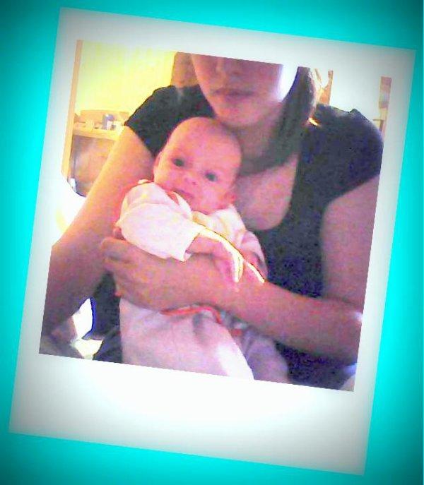 moi et ma fille bébé