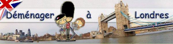 ♥ Déménager à Londres ♥