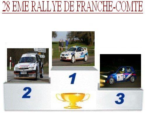 28 EME rallye de Franche-Comte