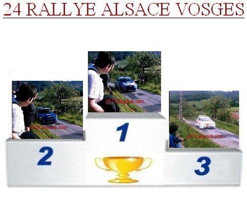 24 EME rallye Alsace Vosges