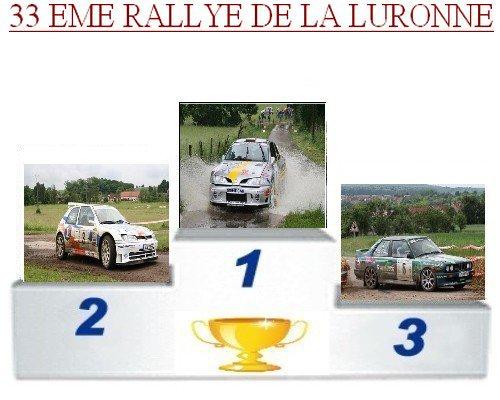 33 EME Rallye de la Luronne