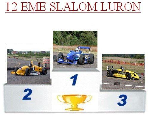 12 EME slalom luron