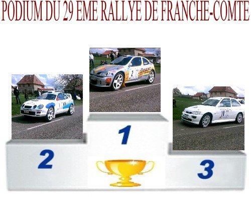 29 EME RALLYE DE FRANCHE-COMTE