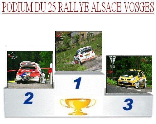 25 EME rallye Alsace Vosges