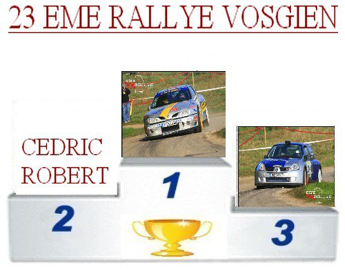 23 EME rallye Vosgien