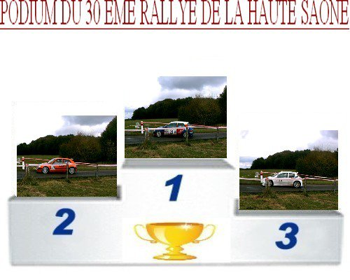 30 EME RALLYE DE LA HAUTE-SAONE