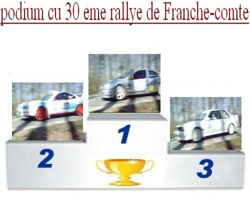 30 EME RALLYE DE FRANCHE-COMTE