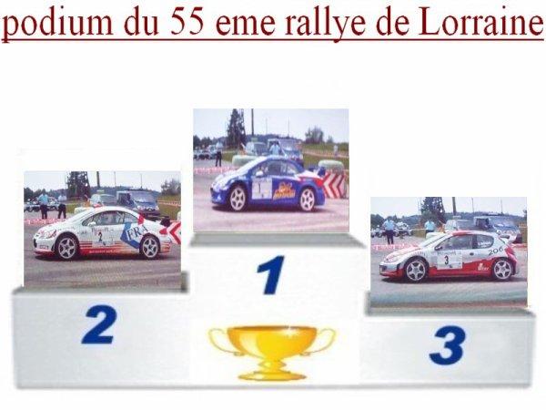 55 EME RALLYE DE LORRAINE