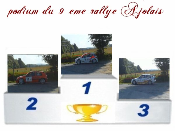 9 eme rallye ajolais