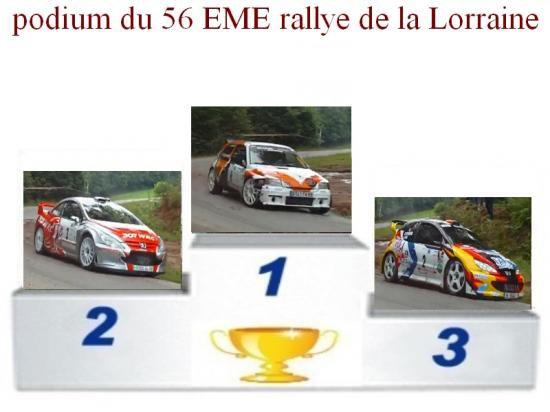 56 EME RALLYE DE LORRAINE