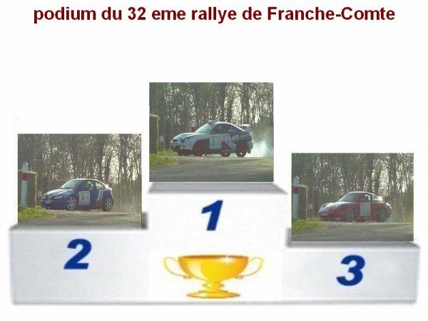 32 EME RALLYE DE FRANCHE-COMTE