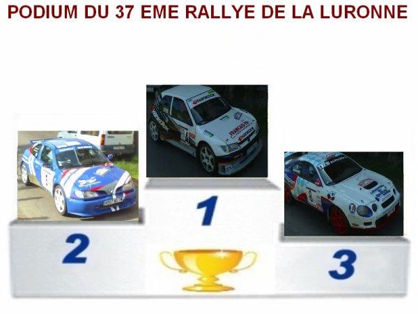 37 EME RALLYE DE LA LURONNE