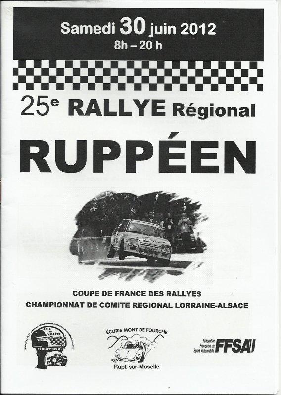 25 EME RALLYE RUPPEEN