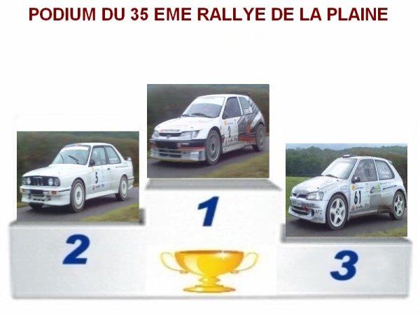 35 EME RALLYE DE LA PLAINE