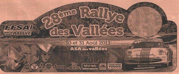 28 EME RALLYE DES VALLEES