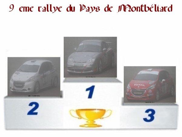 9 EME RALLYE DE MONTBELIARD