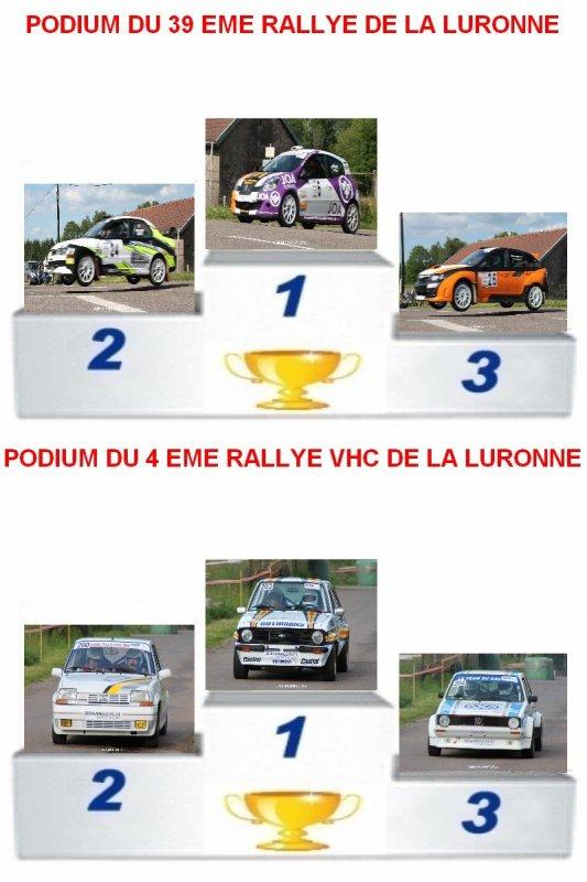 39 EME RALLYE DE LA LURONNE