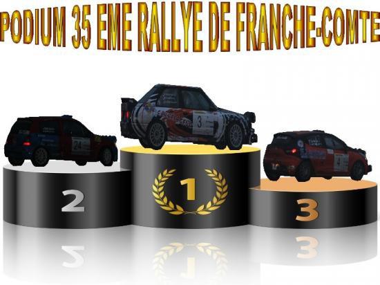 35 EME RALLYE DE FRANCHE-COMTE