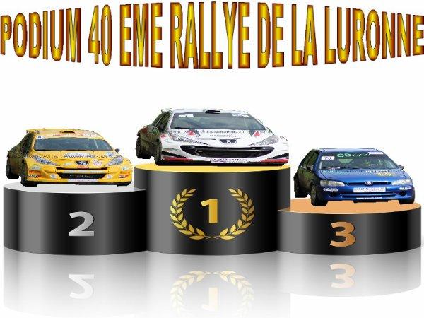 40 EME RALLYE DE LA LURONNE