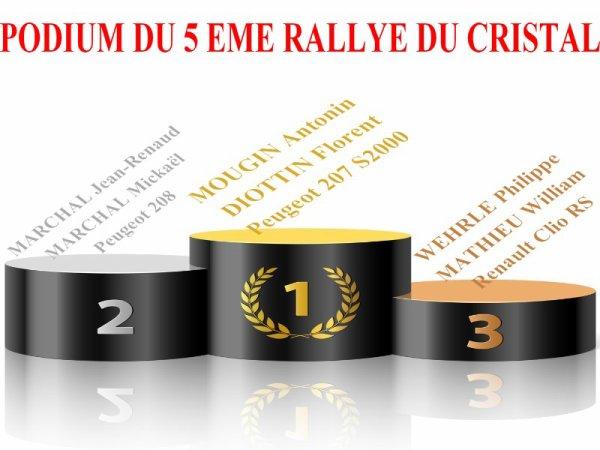 5 EME RALLYE DU CRISTAL