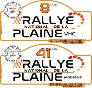 41 EME RALLYE DE LA PLAINE
