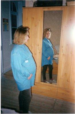 Maman enceinte de 7 mois...
