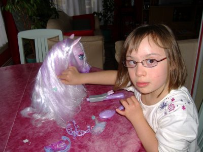 Le cheval magique blog de sassane98 - Barbie et le cheval ...