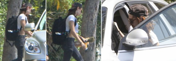 20-08-2012:Kristen dans les rues de Los Angeles faisant ses courses