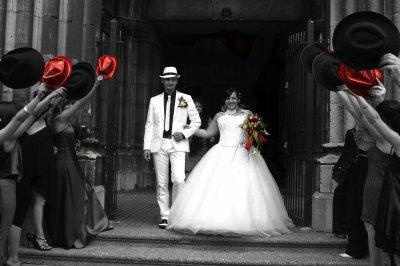 mariage 07/08/2010: theme cabaret