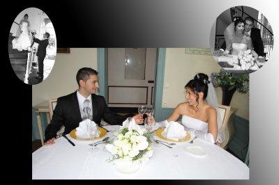 MARIAGE ROSARIO ET LUDIVINE (album livre)