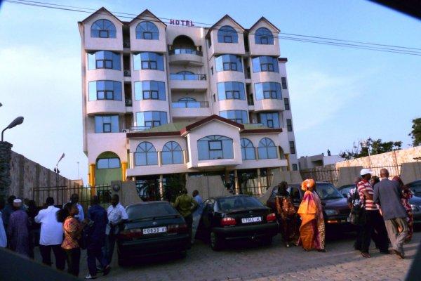 Vue de l'Hotel SANTA MARIA à Lomé