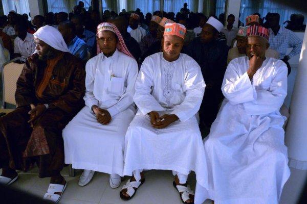 Les deux grands IMAM des Mosquée de Lomé