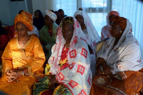 Vue des femmes de la Section Fédérale du Togo