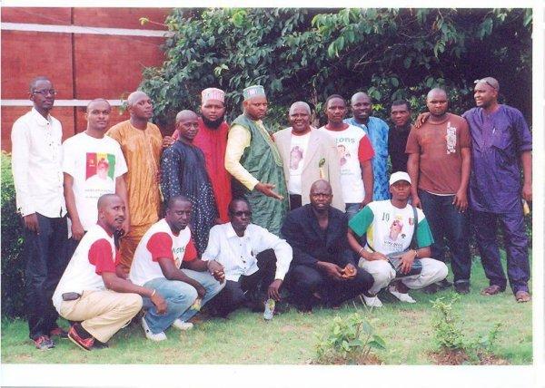 CAMPAGNE DES FEDERATIONS UFDG-TOGO ET UFDG-BENIN COMPTANT POUR LA PRESIDENTIELLE DU 27 JUIN 2010