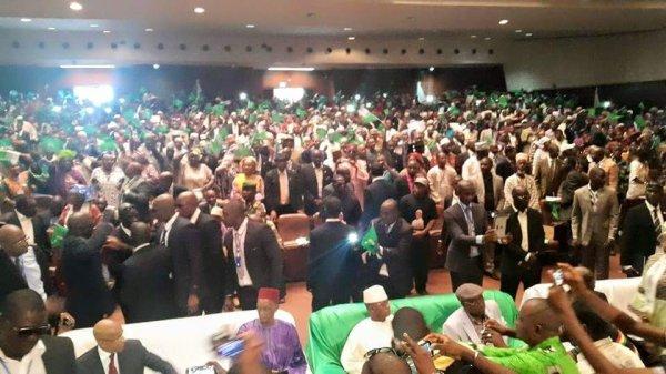 Congrès de l'UFDG : Cellou Dalein Diallo investi comme candidat de l'UFDG aux prochaines élections présidentielles