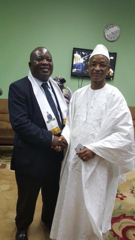 Adresse du Président du Réseau Libéral Africain, Olivier Kamitatu Etsu, au Congrès de l'UFDG