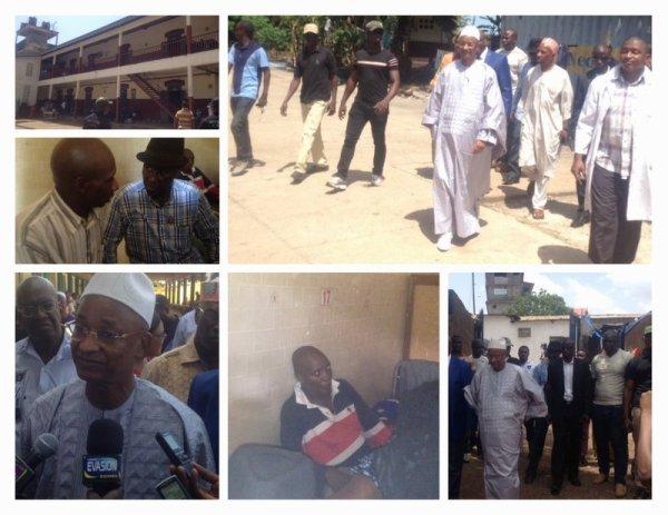 Décès de Mamadou Saïdou BAH : Cellou Dalein DIALLO présente ses condoléances à la famille, et rend visite à ses gardes hospitalisés