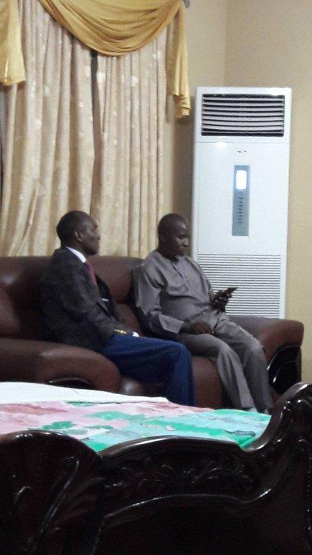 Mr Le Député Diouldé SOW avec Le Fédéral ElHadj Oury BARRY