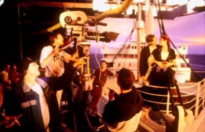 Le tournage de Titanic