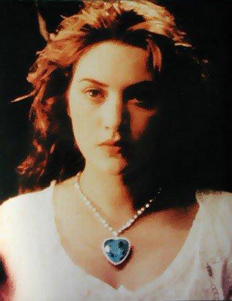 Collier coeur titanic