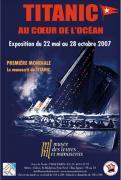 Une exposition sur le Titanic à Paris!!!!
