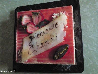 Gâteau de bienvenue