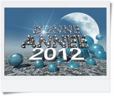 Bonne année....