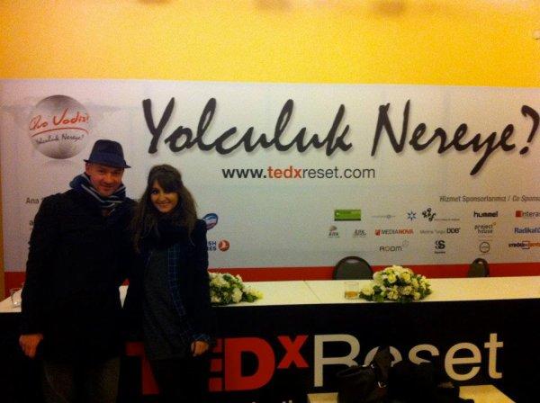 Ashcombe au TEDx Reset Istanbul