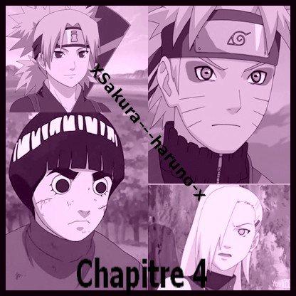 Chapitre 4 Ino, Naruto et Temari contre Lee