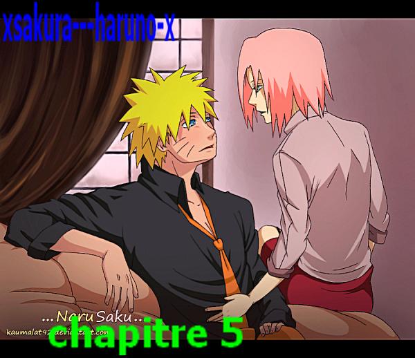 Chapitre 5 Sakura avoue les sentiment à Naruto
